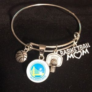 Jewelry - NBA Golden State Warriors Basketball Mom Bracelet